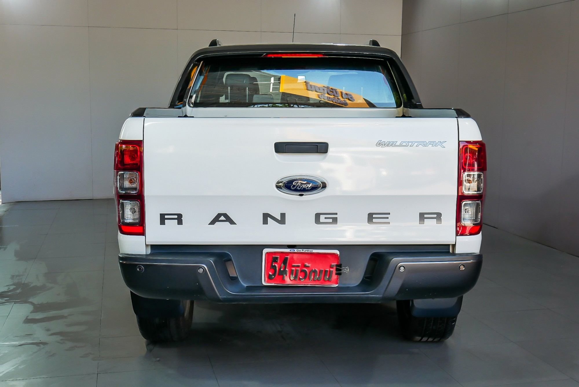 FORD RANGER DOUBLECAB 2.2 WILDTACK HI-RIDER MNC AT ปี 2016 สีขาว