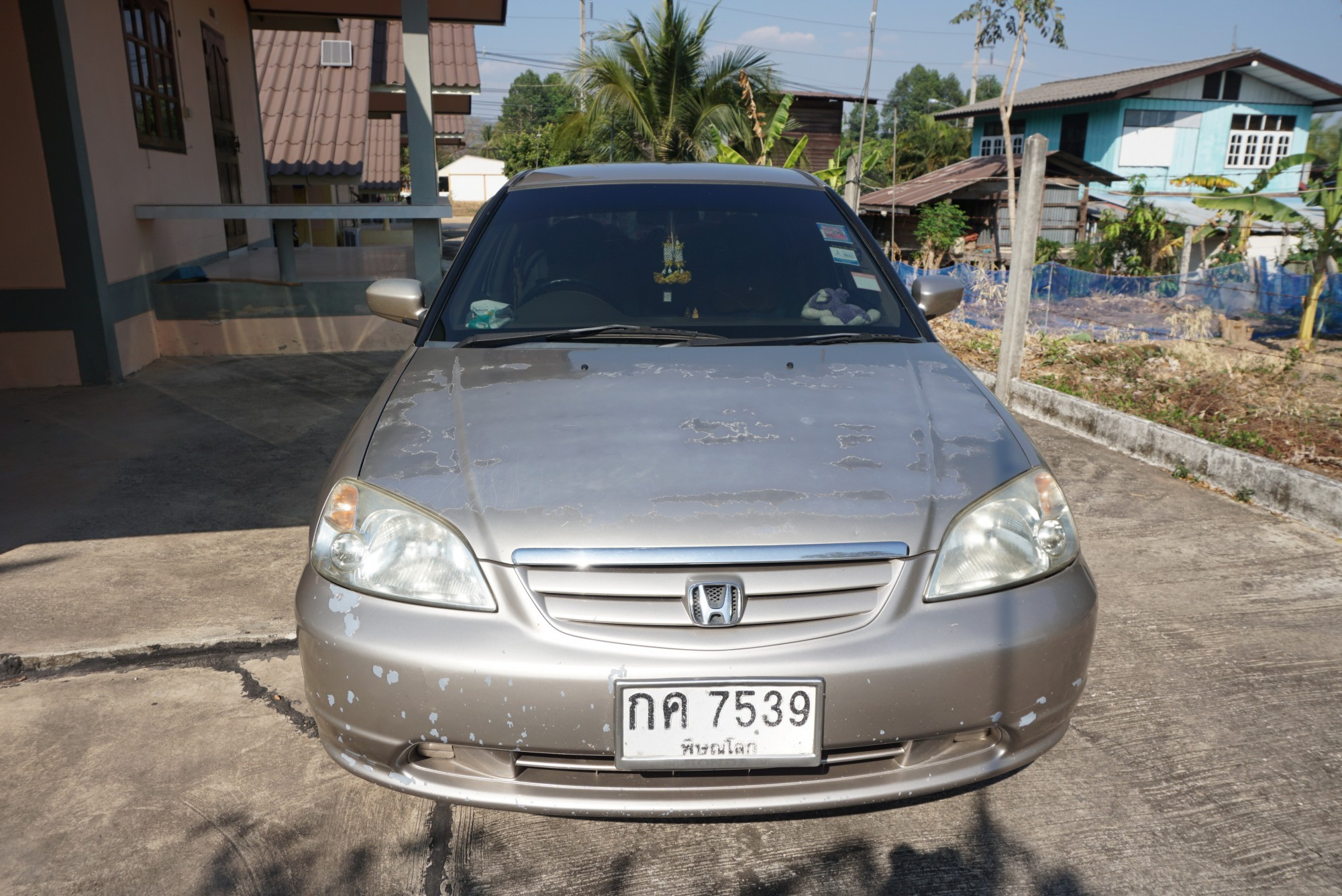 Honda Civic ES (Dimension) ปี 2001 สีทอง