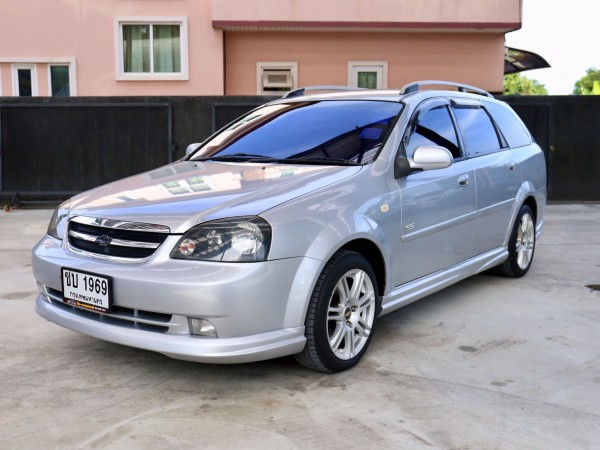 Chevrolet Optra ปี 2007 สีเงิน