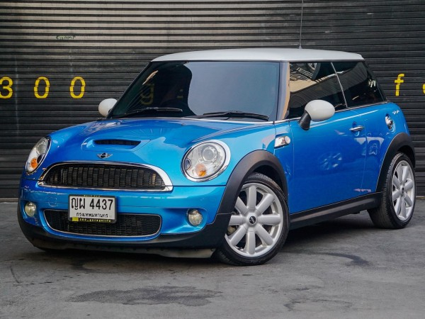 Mini Hatch (Cooper) Gen2 R56 ปี 2008 สีฟ้า