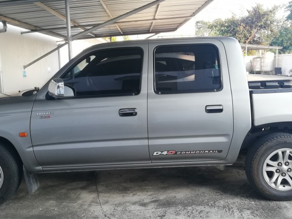 Toyota Hilux Tiger Double cab ปี 2003 สีเทา