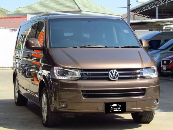 Volkswagen Transporter (Caravelle) Caravelle ปี 2013 สีน้ำตาล