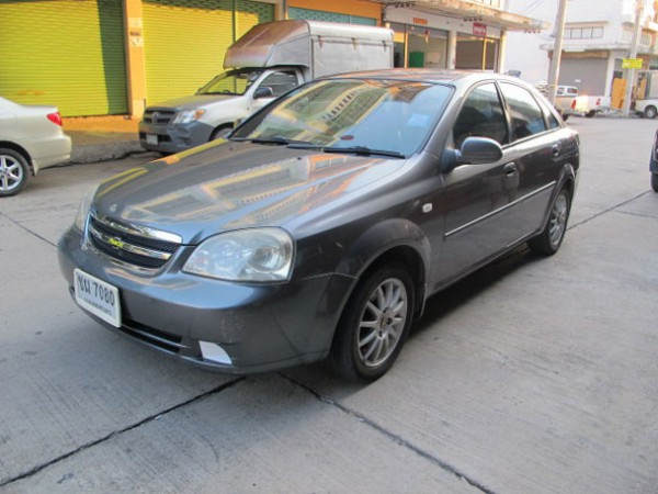 Chevrolet Optra ปี 2007 สีเทา