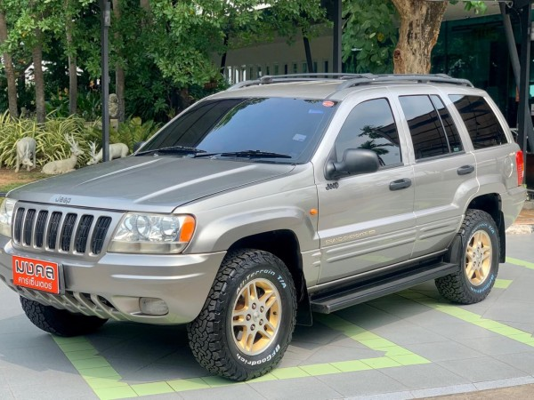 Jeep Grand Cherokee Gen2 (WJ) ปี 2001 สีเทา