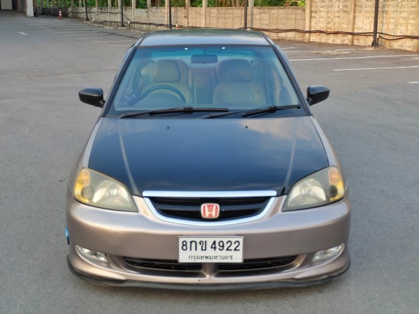Honda Civic ES (Dimension) ปี 2001 สีเทา