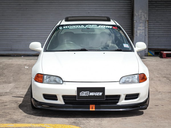 Honda Civic EG 3Door สีขาว