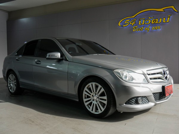 MERCEDES BENZ C200 W204 1.8 CGI Facelife ปี 2013 สีเทา