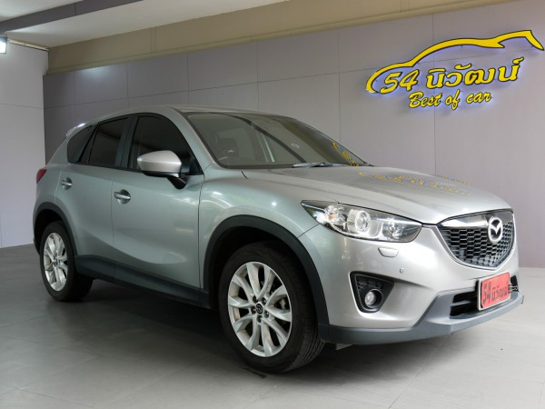 2015 MAZDA CX-5 SKYACTIV-D 2.2 XDL AWD. AT ปี 2015 สีเทา