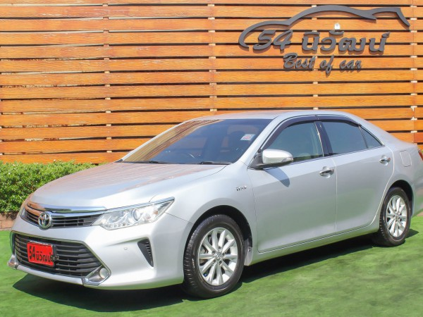 TOYOTA CAMRY 2.0 G MINOR CHANGE ปี 2015 สีเทา