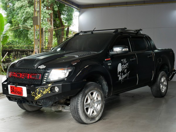 FORD RANGER DOUBLECAB 3.2 WILDTACK 4X4 AT ปี 2014 สีดำ