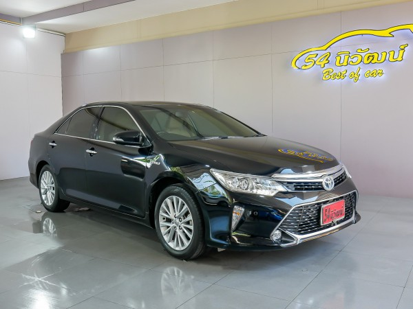 TOYOTA CAMRY 2.5 HV NAVI MINOR CHANGE AT ปี 2016 สีดำ